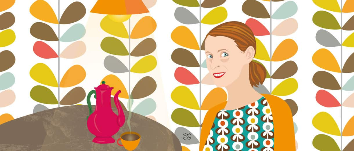 A Coffee With Orla Kiely