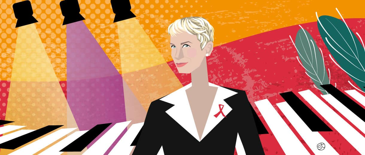 "CELEBS | Annie Lennox: ""We Don't Have To Become Invisible"""