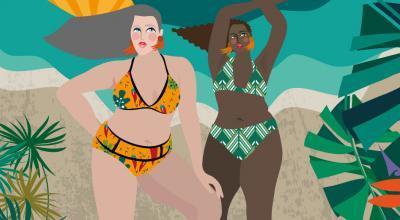 Bikini For Midlife Curvy Women | CrunchyTales | Stefania Tomasich