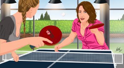 Table Tennis   CrunchyTales