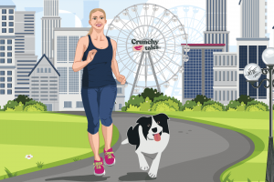 Working Out With Your Dog | CrunchyTales