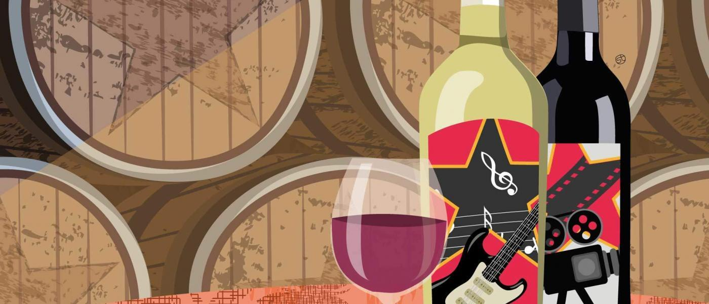 Celebrity Wines That Rock With Gusto