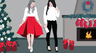 Christmas Fashion| CrunchyTales