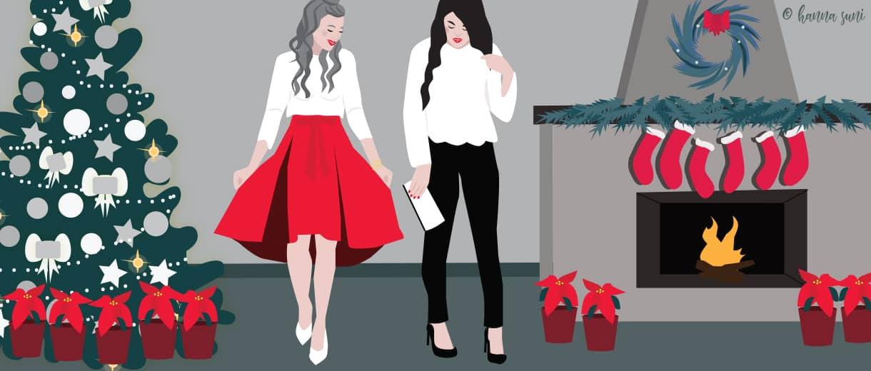Christmas Fashion| CrunchyTales