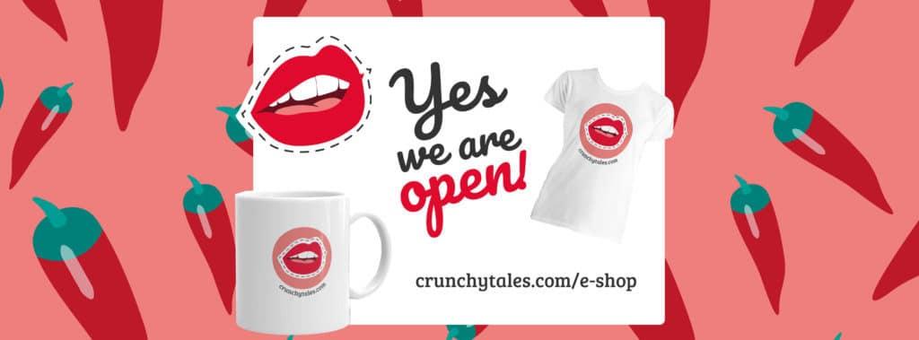 CrunchyTales eShop