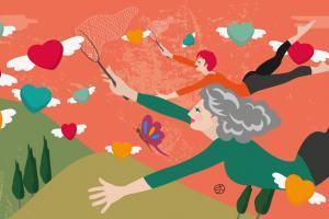 Dating And Love Over 40 | CrunchyTales | Stefania Tomasich Illustration