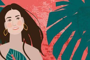 Demi Moore Portrait CrunchyTales