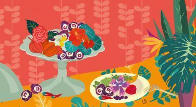 Edible Flowers | CrunchyTales