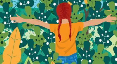Let's Forage With Kids | Stefania Tomasich Illustration | CrunchyTales