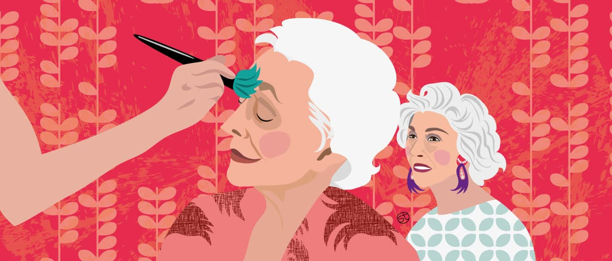 The Unstoppable Rise Of Glam-Mas | CrunchyTales | Stefania Tomasich Illustration