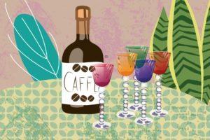 "A Sip Of Italian ""Spirits"" | Stefania Tomasich Illustration | CrunchyTales"
