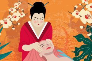 Japanese Kobibo Face Massage | Stefania Tomasich For CrunchyTales