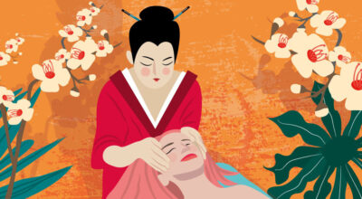 Japanese Kobibo Face Massage   CrunchyTales