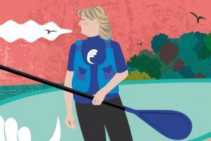 "Jo Moseley: How Paddleboarding Gave Me Purpose In Midlife"" Is Locked Jo Moseley: How Paddleboarding G Jo Moseley Paddleboarding In Midlife 