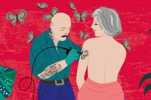 Tatoo In Midlife | CrunchyTales | Stefania Tomasich