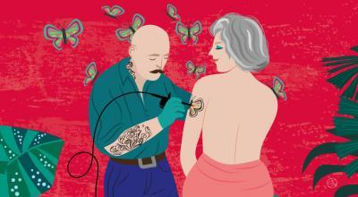 Tatoo In Midlife | CrunchyTales