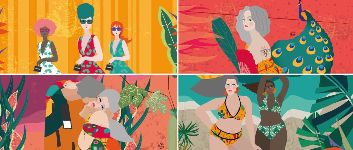 The First Illustrated Online Magazine For Women Over 40 | CrunchyTales