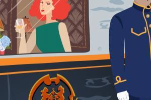 World's Top 7 Luxury Trains | Stefania Tomasich Illustration | Crunchy Tales