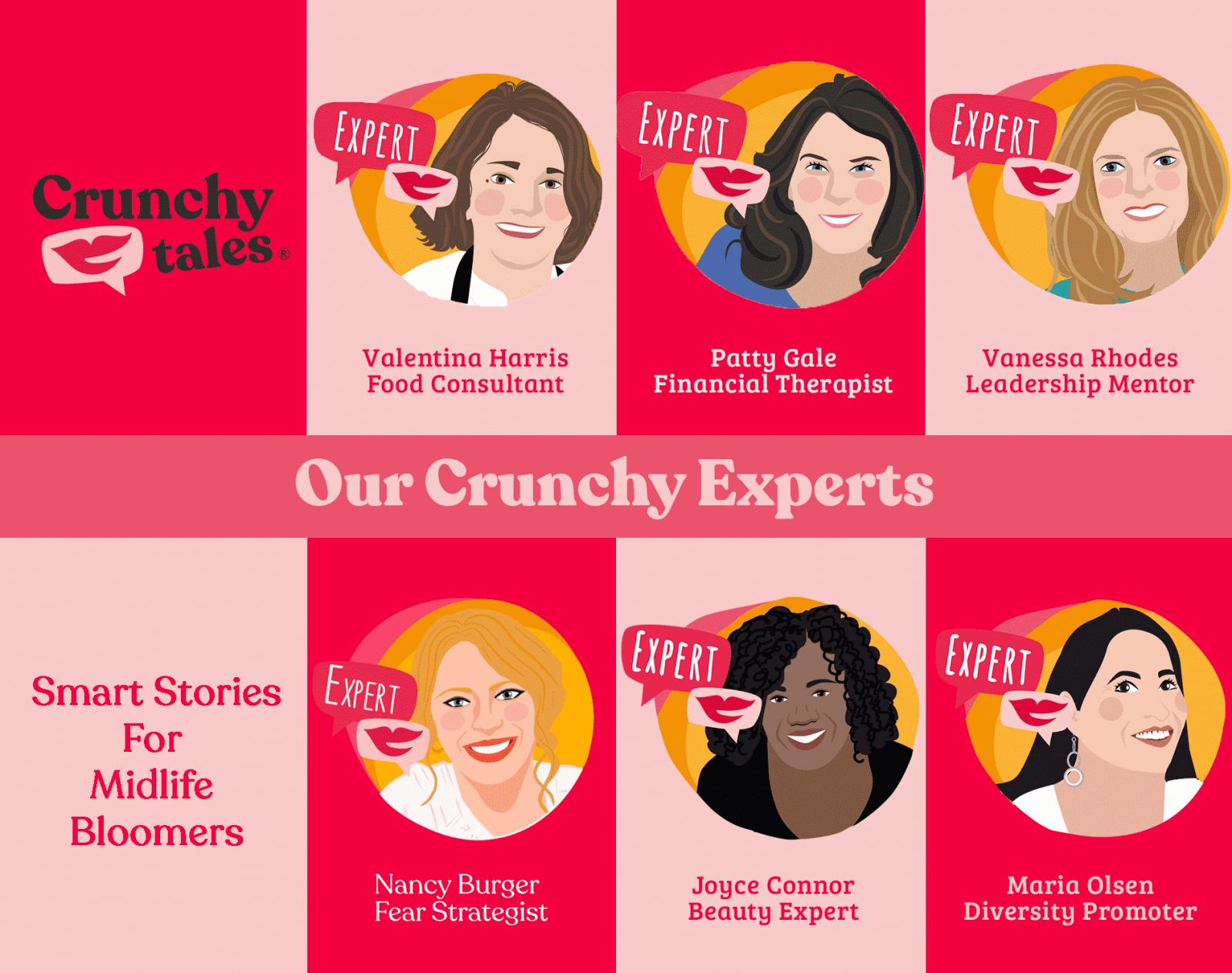 Midlife Experts   CrunchyTales
