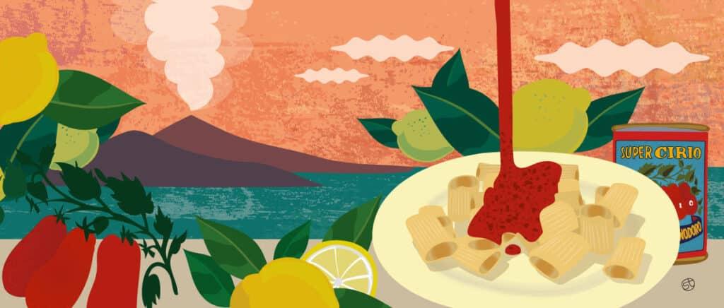 Neapolitan Ragù Italian Pasta | CrunchyTales Stefania Tomasich