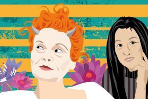 Vivienne Westwood | Vera Wang | CrunchyTales | Stefania Tomasich Illustration