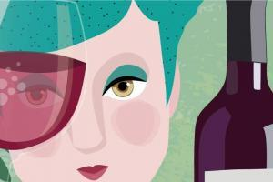 Wines Illustration | CrunchyTales Stefania Tomasich