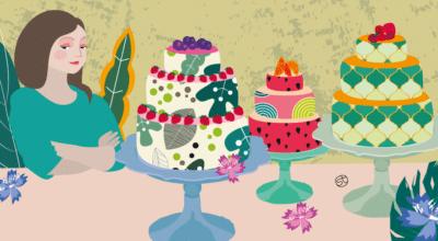 Cake Design - New Trends   CrunchyTales   Stefania Tomasich