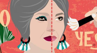 Makeup At 50 | Illustration