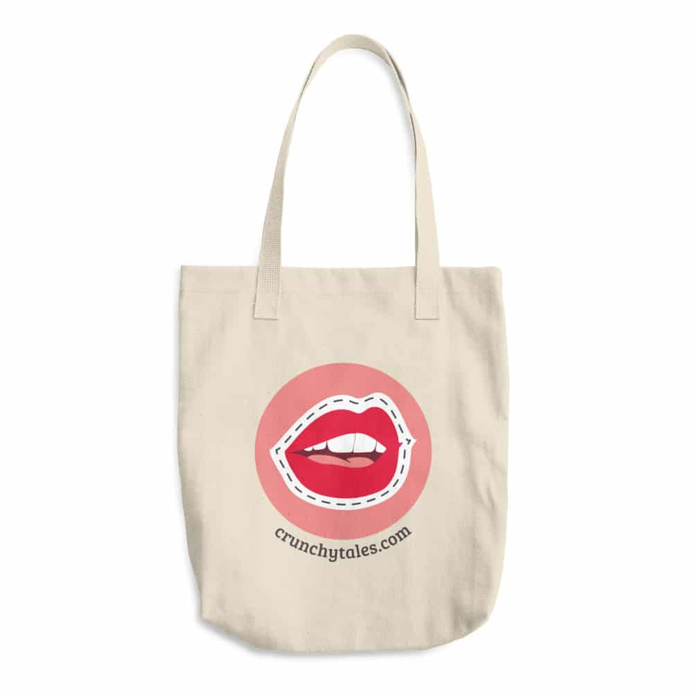 CrunchyTales Cotton Tote Bag