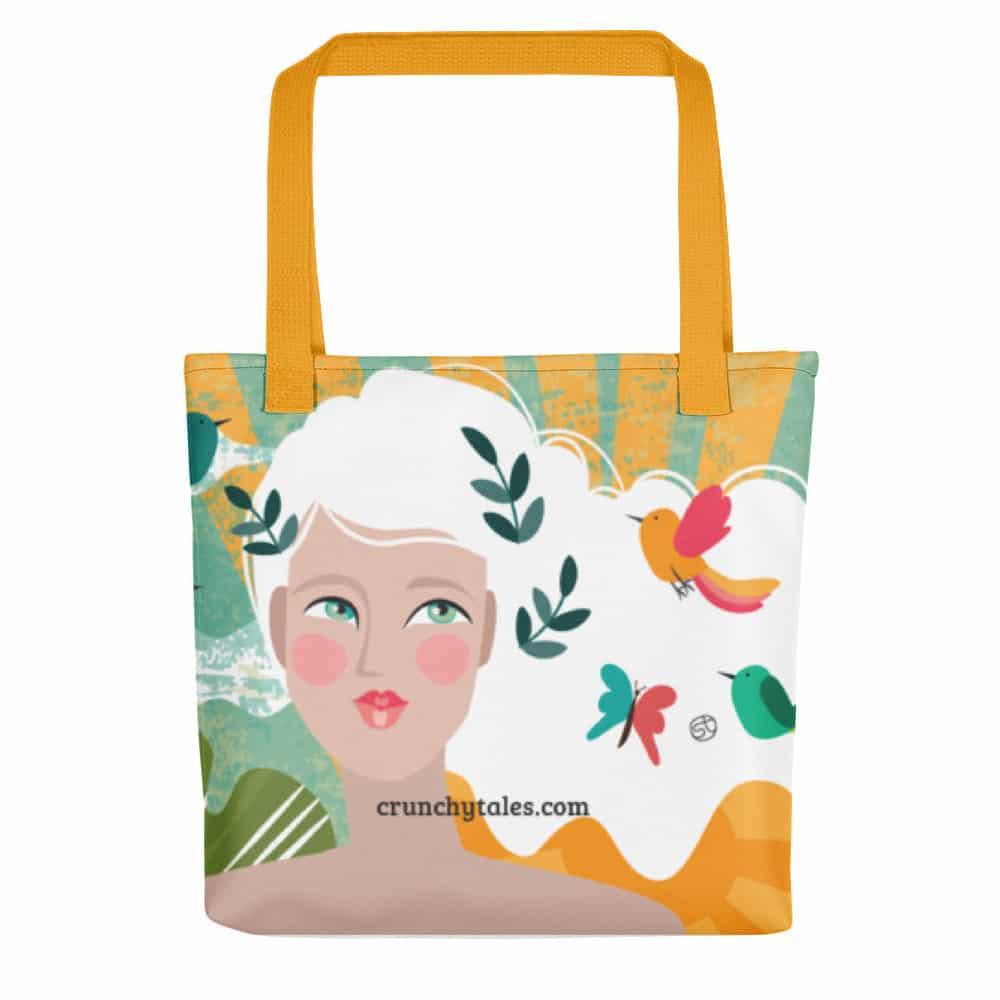 CrunchyTales Tote Bag