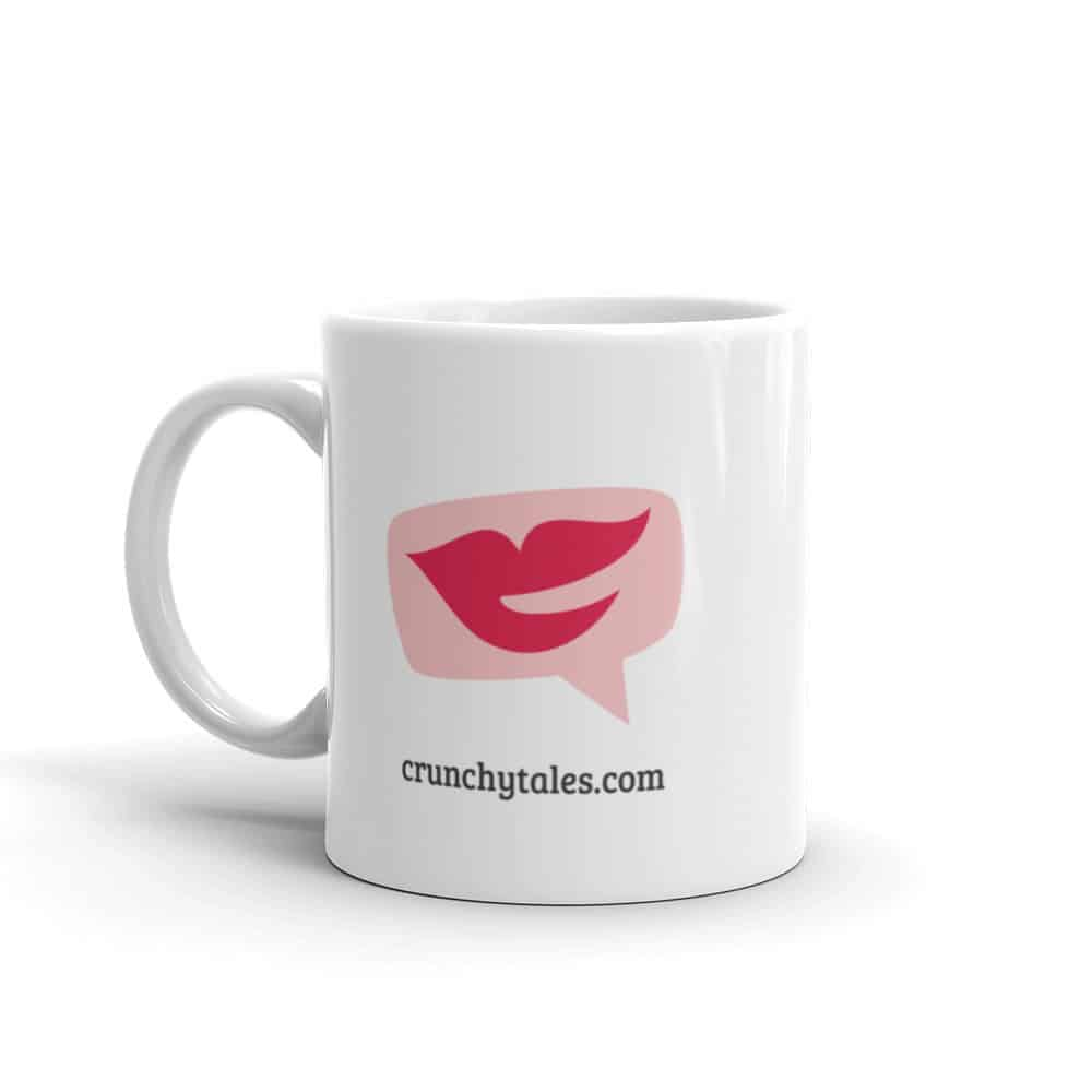 CrunchyTales Red Lips Mug