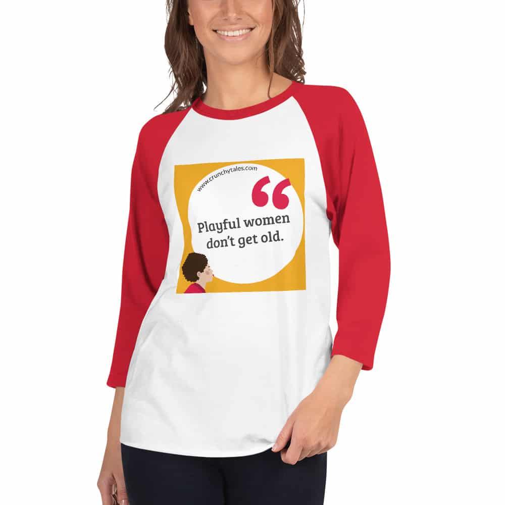 CrunchyTales Playful Women 3/4 Sleeve Shirt