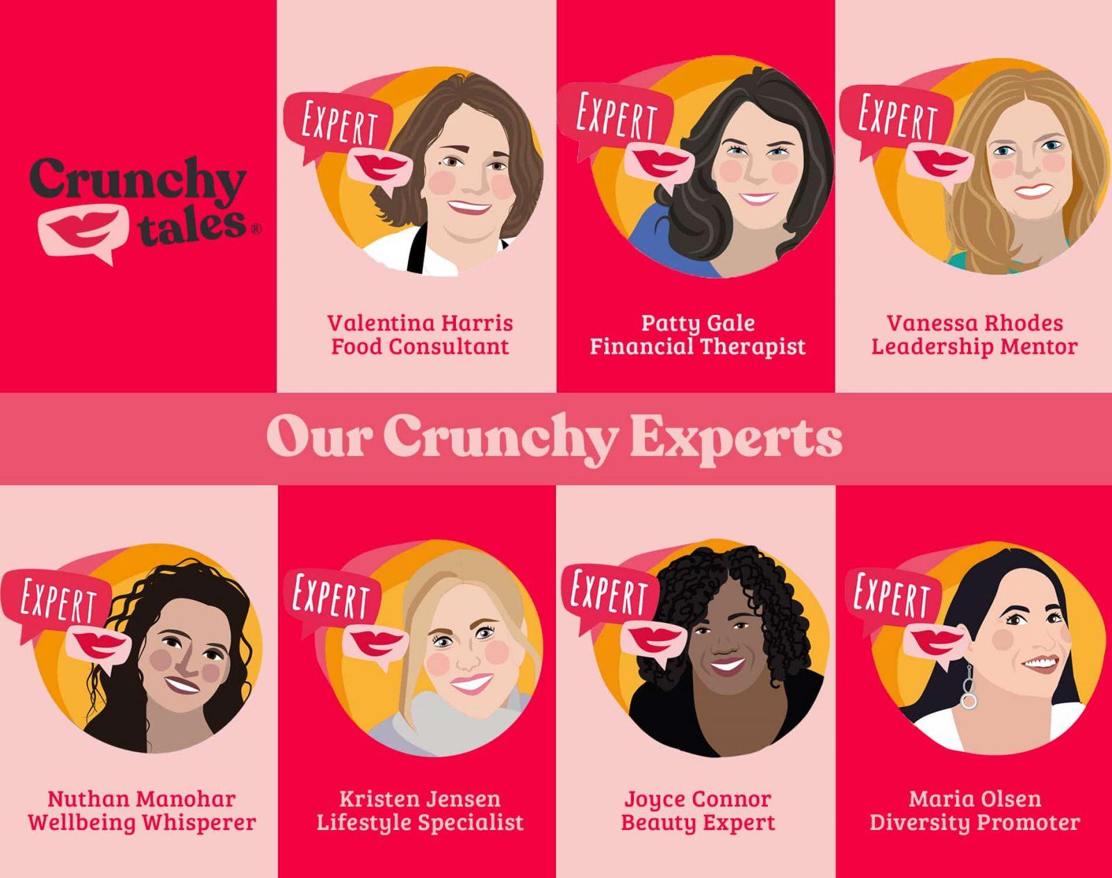 CrunchyTales Experts