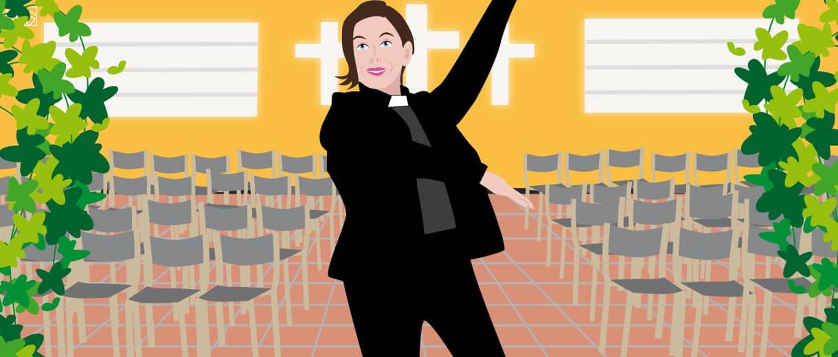 "Dancing Priest Sanna Kauppinen: ""Change Is Not Easy, But Necessary"""