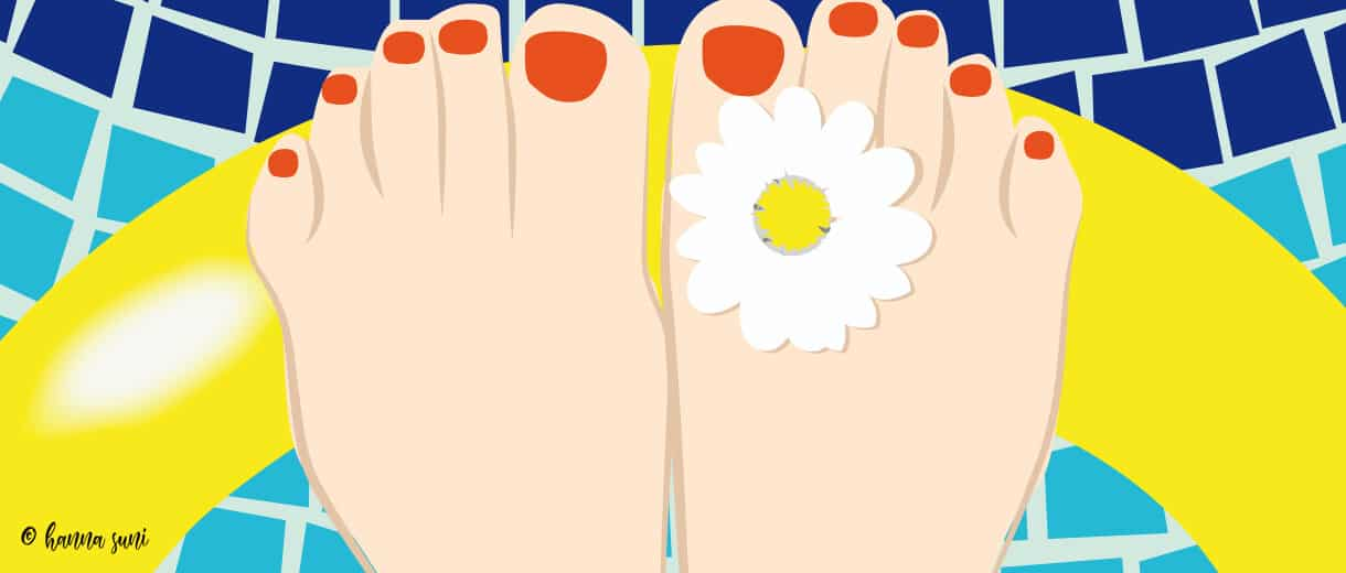 Summer Feet: Quick Fixes For Keeping Them Cool