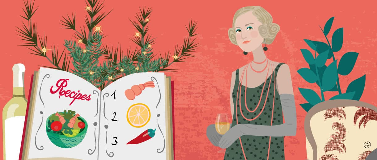 Xmas Cook Book | CrunchyTales Stefania Tomasich